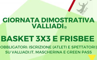 Dimostrazioni Valliadi® Estate 2021